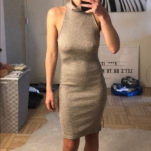 Topshop turtleneck sweater dress
